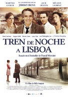 Night Train to Lisbon - Spanish Movie Poster (xs thumbnail)