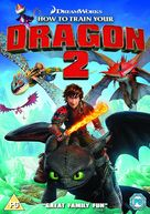 How to Train Your Dragon 2 - British DVD movie cover (xs thumbnail)