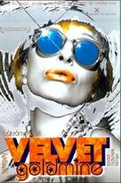 Velvet Goldmine - Hungarian DVD cover (xs thumbnail)