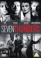 Seven Thunders - British DVD cover (xs thumbnail)
