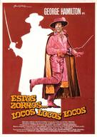 Zorro, the Gay Blade - Spanish Movie Poster (xs thumbnail)