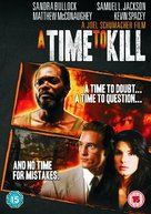A Time to Kill - British DVD cover (xs thumbnail)