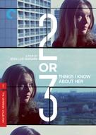 2 ou 3 choses que je sais d'elle - DVD cover (xs thumbnail)