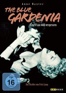 The Blue Gardenia - German DVD cover (xs thumbnail)