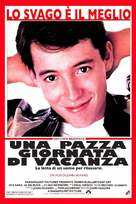 Ferris Bueller's Day Off - Italian Movie Poster (xs thumbnail)