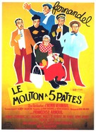 Le mouton à cinq pattes - French Movie Poster (xs thumbnail)