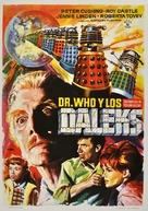 Dr. Who and the Daleks - Spanish Movie Poster (xs thumbnail)