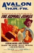 The Asphalt Jungle - Movie Poster (xs thumbnail)