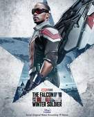 """""""The Falcon and the Winter Soldier"""" - Indonesian Movie Poster (xs thumbnail)"""