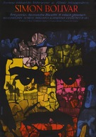 Simón Bolívar - Polish Movie Poster (xs thumbnail)
