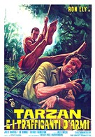 Tarzan and the Perils of Charity Jones - Italian Movie Poster (xs thumbnail)