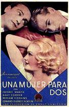 Design for Living - Spanish Movie Poster (xs thumbnail)