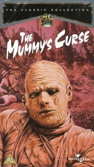 The Mummy's Curse - British VHS movie cover (xs thumbnail)