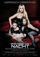 Wir sind die Nacht - German Movie Poster (xs thumbnail)