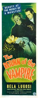 The Return of the Vampire - Movie Poster (xs thumbnail)