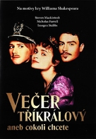 Twelfth Night: Or What You Will - Czech Movie Cover (xs thumbnail)