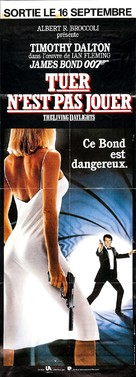 The Living Daylights - French Movie Poster (xs thumbnail)