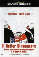 Dr. Strangelove - Italian Movie Cover (xs thumbnail)