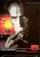 White Hunter Black Heart - Swedish Movie Poster (xs thumbnail)