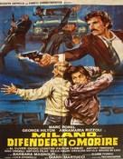 Milano... difendersi o morire - Italian Movie Poster (xs thumbnail)