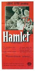 Hamlet - Swedish Movie Poster (xs thumbnail)