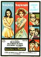Buona Sera, Mrs. Campbell - Spanish Movie Poster (xs thumbnail)