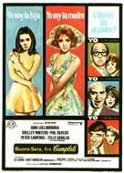 Buona Sera, Mrs. Campbell - Spanish Movie Poster (xs thumbnail)