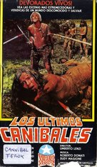 Cannibal ferox - Argentinian Movie Cover (xs thumbnail)