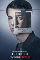"""Thirteen Reasons Why"" - Italian Movie Poster (xs thumbnail)"