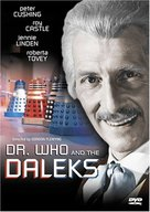 Dr. Who and the Daleks - DVD cover (xs thumbnail)
