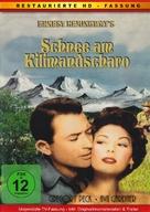The Snows of Kilimanjaro - German DVD cover (xs thumbnail)
