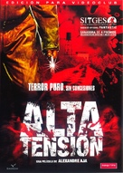 Haute tension - Spanish DVD cover (xs thumbnail)
