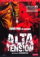 Haute tension - Spanish DVD movie cover (xs thumbnail)