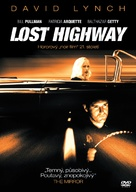 Lost Highway - Czech DVD movie cover (xs thumbnail)