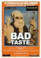 Bad Taste - German Movie Poster (xs thumbnail)