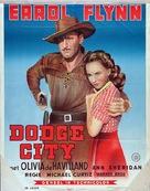 Dodge City - Dutch Movie Poster (xs thumbnail)