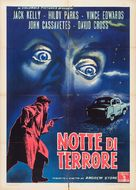 The Night Holds Terror - Italian Movie Poster (xs thumbnail)