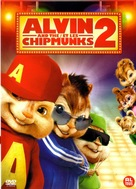 Alvin and the Chipmunks: The Squeakquel - Dutch DVD cover (xs thumbnail)