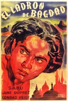 The Thief of Bagdad - Argentinian Movie Poster (xs thumbnail)