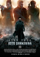 Star Trek: Into Darkness - Norwegian Movie Poster (xs thumbnail)
