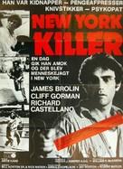 Night of the Juggler - Danish Movie Poster (xs thumbnail)
