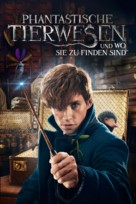 Fantastic Beasts and Where to Find Them - German Movie Cover (xs thumbnail)