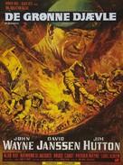 The Green Berets - Danish Movie Poster (xs thumbnail)