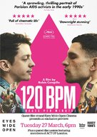 120 battements par minute - British Movie Poster (xs thumbnail)
