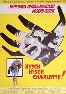 Hush... Hush, Sweet Charlotte - Swedish Movie Poster (xs thumbnail)