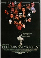 Fellini - Satyricon - German Movie Poster (xs thumbnail)