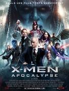 X-Men: Apocalypse - French Movie Poster (xs thumbnail)