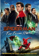 Spider-Man: Far From Home - DVD movie cover (xs thumbnail)