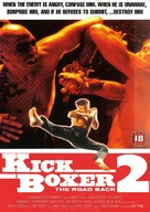 Kickboxer 2 - British Movie Cover (xs thumbnail)