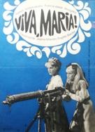 Viva María! - Hungarian Movie Poster (xs thumbnail)